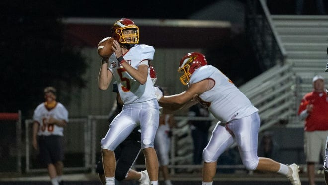 Jagger Barnett and Big Walnut will face Franklin Heights on Friday, Sept. 11, at Central Crossing.