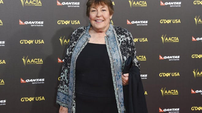 "Australian-born singer Helen Reddy attends the 2015 G'DAY USA GALA at the Hollywood Palladium, in Los Angeles. Reddy, who shot to stardom in the 1970s with her feminist anthem ""Am Woman"" has died at age 78."