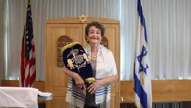 Marlene Bloom, 82, a resident of Hebrew SeniorLife's Jack Satter House in Revere and a former resident of Hull, has fulfilled a lifelong dream of becoming a Bat Mitzvah.