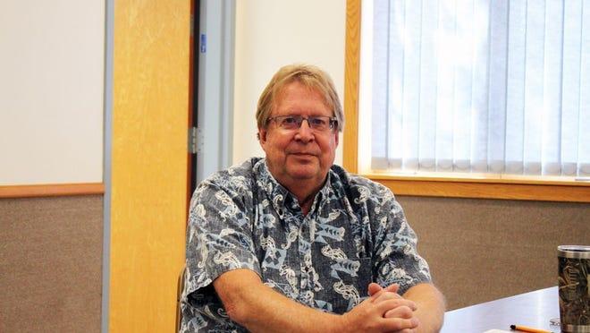 Larry Thompson is Wabasso's new city clerk having begun in the new position Aug. 6.