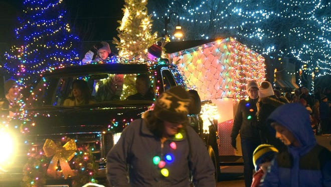 The Holiday of Lights parade will be held this Friday, but it is taking place at Redwood Valley schools.