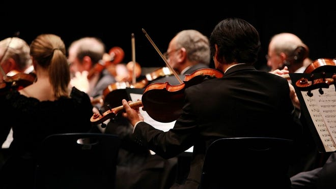"""The St. Louis Symphony recently began its """"On the Go"""" series that involves outdoor chamber music performances for crowds of 50 or less, as well as one-on-one performances in which symphony musicians visit and perform for individuals or families at their homes."""