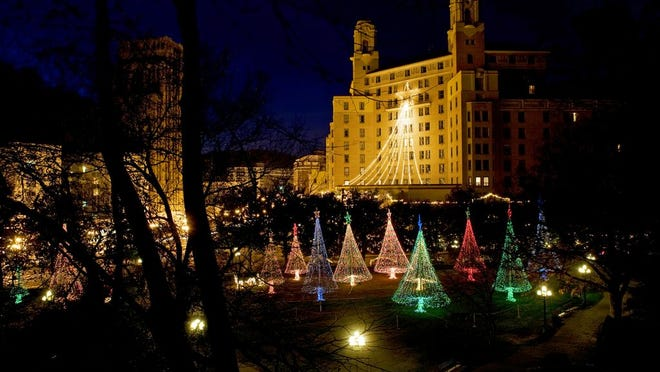 The Arlington Lane Christmas Lights, in historic Downtown Hot Springs, are just one piece of the amazing display of holiday spirit.