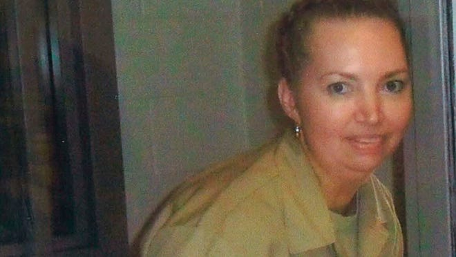 FILE - This undated file image provided by Attorneys for Lisa Montgomery shows Lisa Montgomery. Montgomery who In 2004, killed a pregnant woman, cut a baby from her womb and then passed off the newborn as her own is set to die for the crime. Lisa Montgomery would be the first woman executed by the federal government in some six decades if her execution happens as scheduled on Jan. 12, 2021, at the Federal Correctional Complex in Terre Haute, Ind.