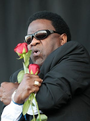 Al Green performs during the Bonnaroo Arts and Music Festival in Manchester, Tenn., Friday, June 12, 2009.