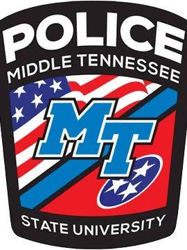 MTSU Police Department's logo