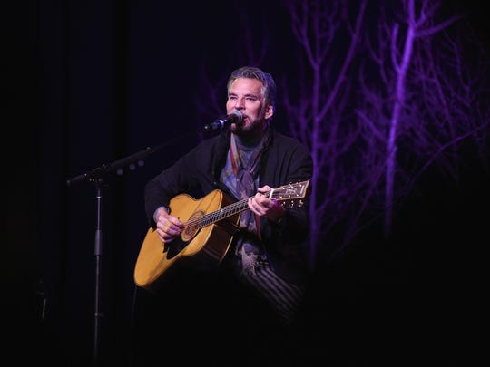 KAMAS, UT - JANUARY 19: Recording artist Kenny Loggins performs onstage during An Artist at the Table Benefit during the 2017 Sundance Film Festival at DeJoria Center on January 19, 2017 in Kamas, Utah. (Photo by Nicholas Hunt/Getty Images for Sundance Film Festival)