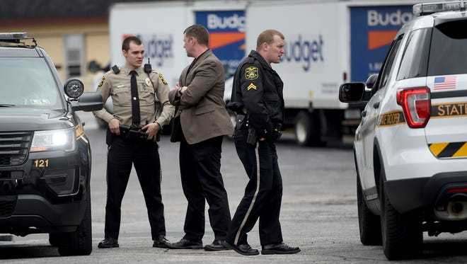 Police were called to the Budget Car Rental along North George Street in Manchester Township for a police incident on Monday.