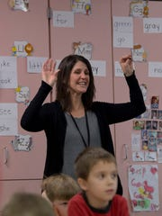 Castle Elementary School kindergarten teacher Julie