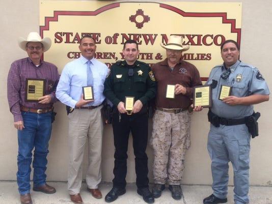 law enforcement recipients CYFD