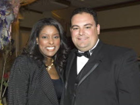 Gregory Ciccone at a 2006 Angels of Hope dinner at