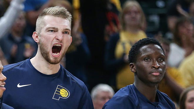 Domantas Sabonis and Victor Oladipo have been key reasons for the Pacers' hot start.