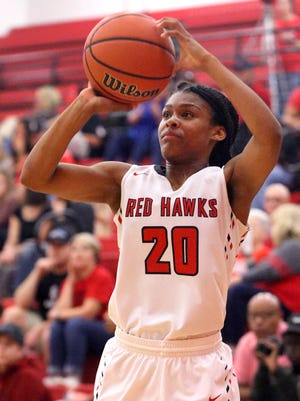 Stewarts Creek's Lauren Flowers scored 12 points in Monday's win over Shelbyville.