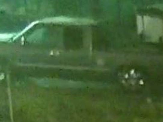 The suspects are believed to have been driving a Chevy