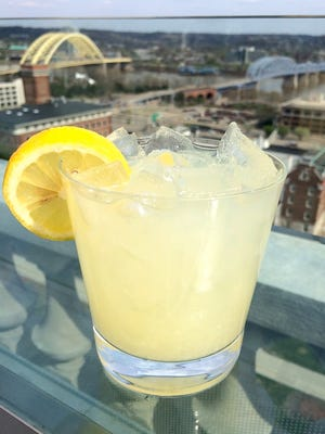 The Rooftop Lemonade at Top of the Park is simple: lemonade and vanilla vodka.