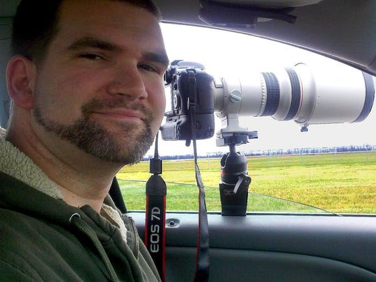 Jason Lee, 38, is the amateur photographer behind the Greenfield Eagle Watch Facebook page.
