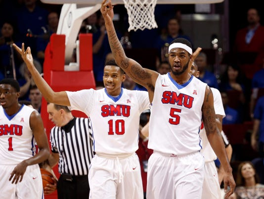 NCAA Basketball: Cincinnati at Southern Methodist