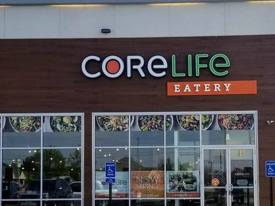 CoreLife Eatery recently opened at the corner of Farabee
