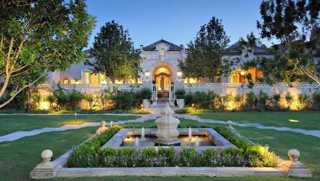 Patrick O'Malley and his wife, Diane, purchased this 9,830-square-foot mansion in Paradise Valley's Morning Glory Meadows community.