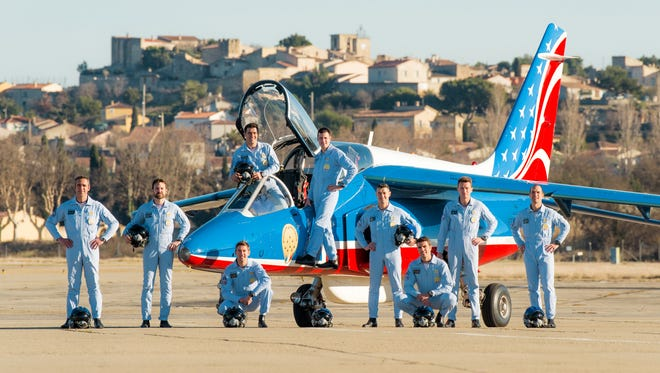 "The Patrouille Acrobatique de France (""Acrobatic Patrol of France"") will flyover the Lower Hudson Valley on Saturday."