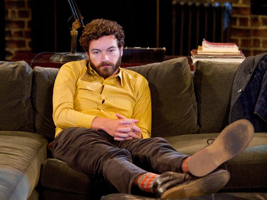 """Danny Masterson. in """"MEN AT WORK"""""""