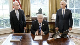 The Oval Office on March 24, 2017.