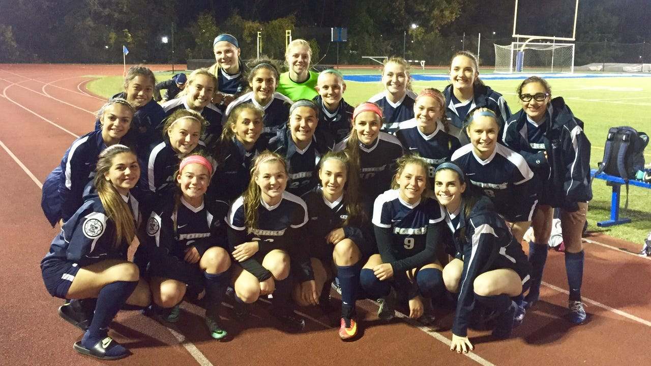 There were smiles and plenty of pride for Rhinebeck, despite a loss to defending state champion Chenango Forks in a Class B girls soccer regional semifinal.