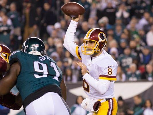 USP NFL: WASHINGTON REDSKINS AT PHILADELPHIA EAGLE S FBN USA PA