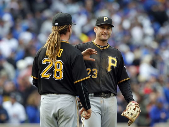USP MLB: PITTSBURGH PIRATES AT CHICAGO CUBS S BBN CHC PIT USA IL