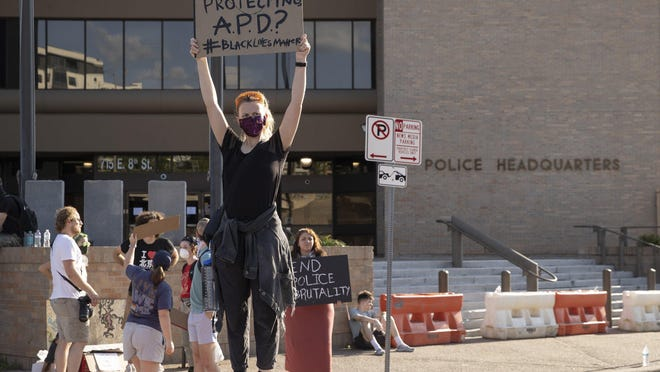Protesters against racial injustice directed their anger at the Austin Police Department in recent months but focused little attention on the Travis County sheriff's office.