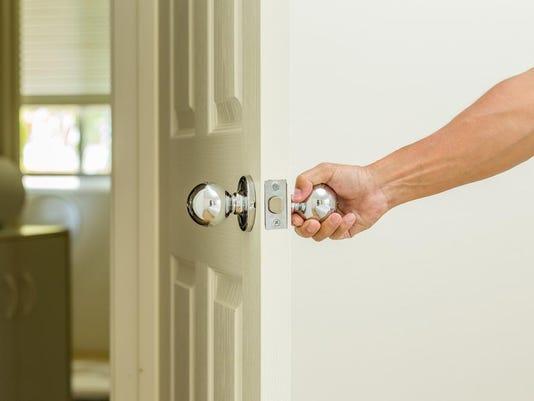 open door