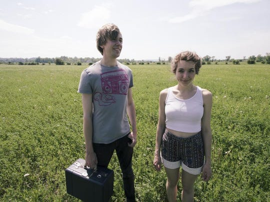 Local folk duo Cricket Blue plays three shows Wednesday at the fair.