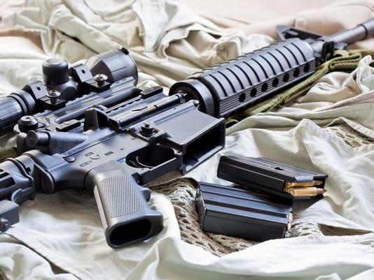 assault weapon stock