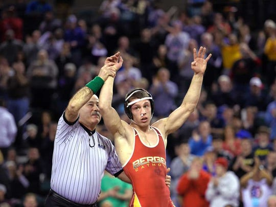 Nick Suriano went 159-0 on his way to winning four NJSIAA titles.