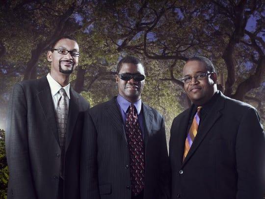 Marcus Roberts Trio Jim Lind art