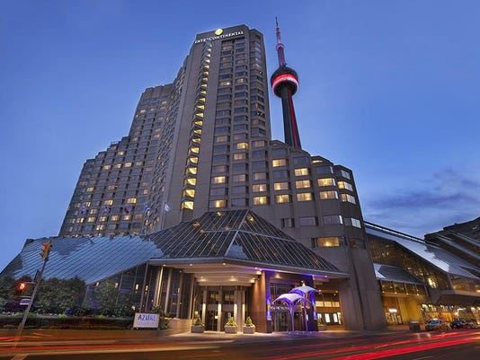 shieldsIntercontinental Toronto Centre Exterior