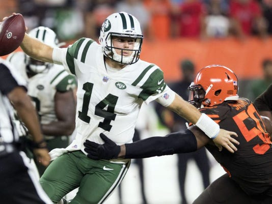 Jets Rookie Power Rankings: Darnold and company underwhelmed vs. Browns