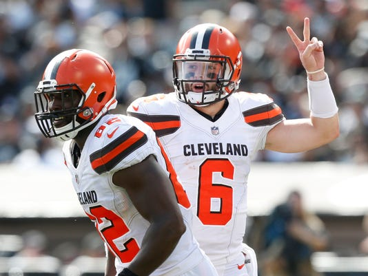 Week 8 fantasy football studs, duds and sleepers: Baker Mayfield may have a huge game