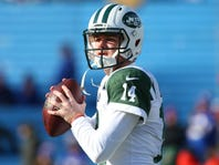 Jets' Sam Darnold on how he responds to interceptions: 'I'm definitely not going to flinch'