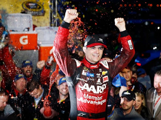 Jeff Gordon explains what it would take to get him in a car again