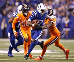 Colts will wear all-blue Color Rush jerseys against Broncos