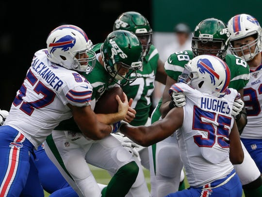 Lorenzo Alexander has been with the Bills four seasons, during which he has started 42 games at linebacker.