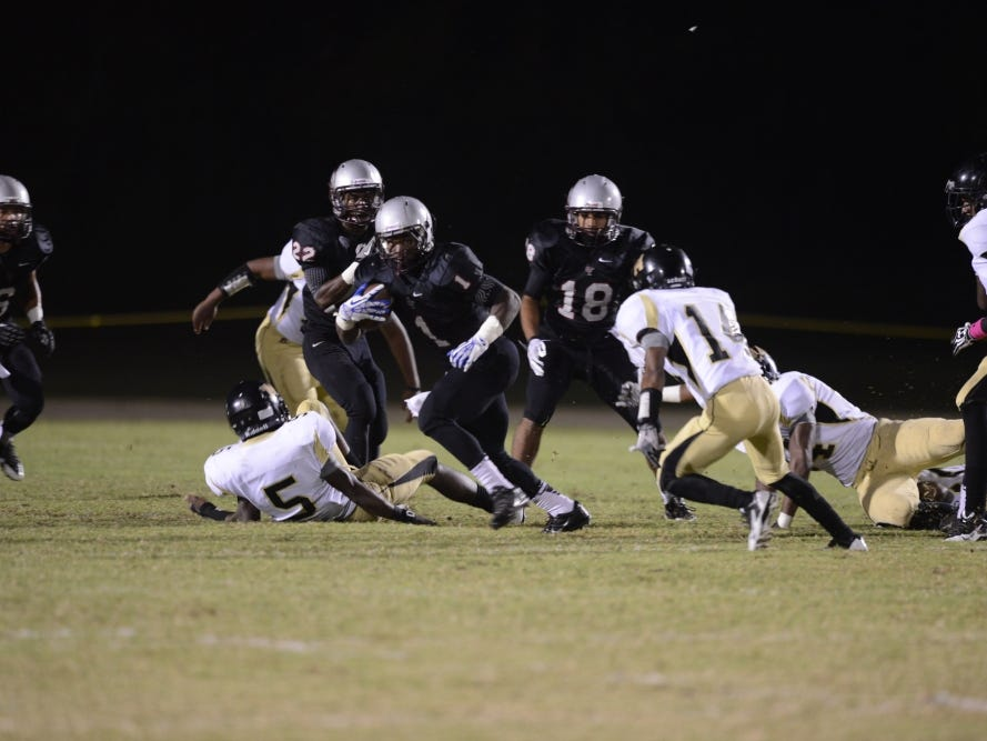 Liberty's Willie Pearson is going to get multiple chances to run the ball against Henry County on Friday.