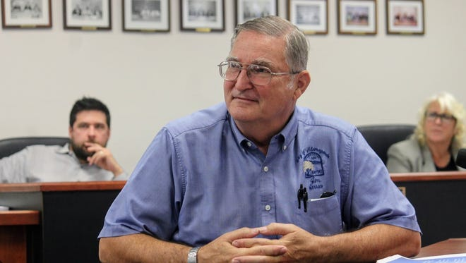 White Sands Regional Airport Manager Jim Talbert, on behalf of New Mexico Aviation Aerospace Association (NMAAA) President Bill Shuert, went before the Otero County Commission Thursday to request $3,000 in funding to support the 2017 Aviation Aerospace STEM Expo.