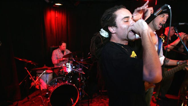 Newark's Fat Daddy Has Been performs at Kelly's Logan House in 2005. The rap/rock act will reunite in Wilmington this weekend, four years after breaking up.