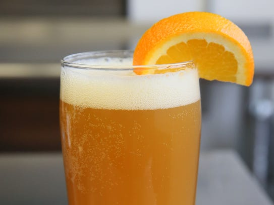The Beermosa substitutes IPA for Champagne.