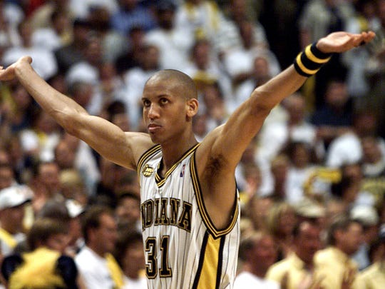 Reggie Miller bounced back after a brutal Game 1.