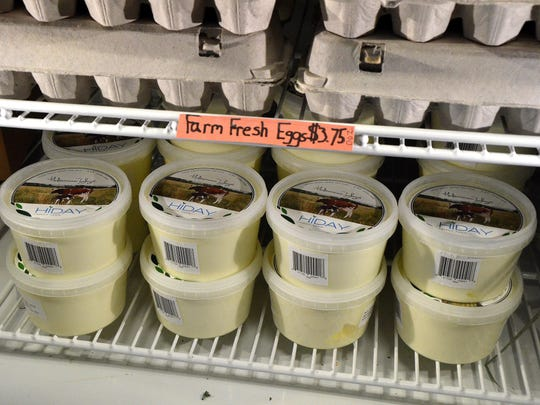 Hiday Farm's yogurt can be found locally at Sprout