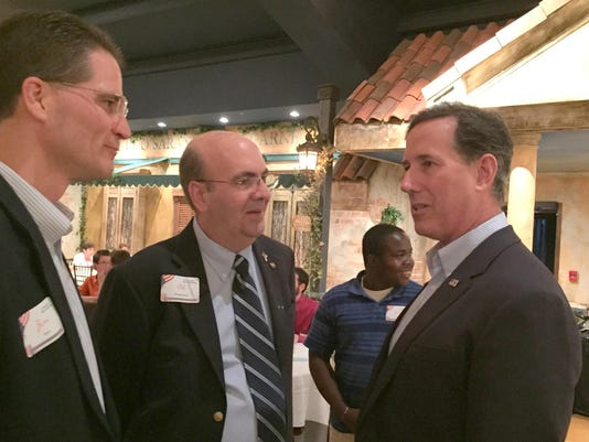 Santorum, Iowa, June 25