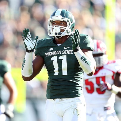 MSU's Jamal Lyles caught five passes and played in